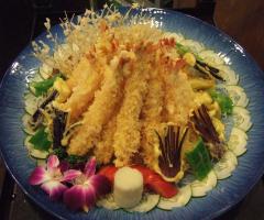 炸蝦野菜天