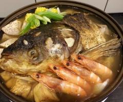 砂鍋魚頭(事先預訂)