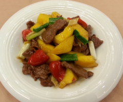 芒果牛肉(季節限定)