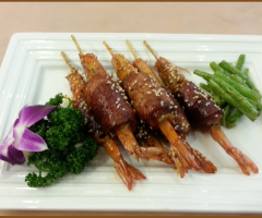 蜜汁培根蝦(事先預訂)