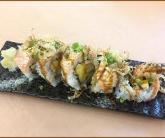 燻鮭魚芒果壽司捲(季節限定)