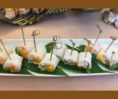 鮮蝦芒果水晶捲(季節限定)